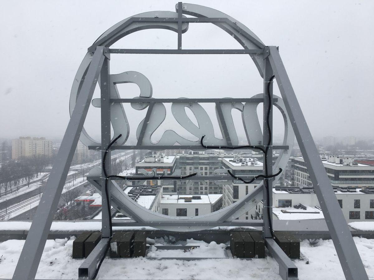 produkcja i montaż stalowej konstrukcji na wysokości 40 m